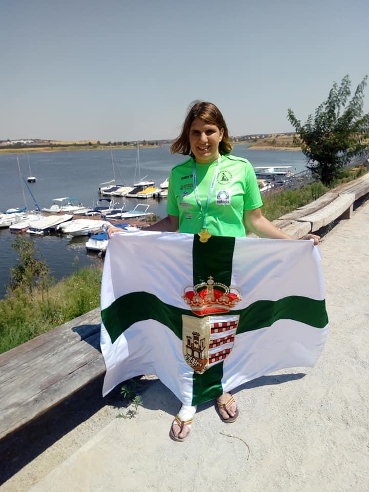 Elena Ayuso compite en los II Juegos Parainclusivos de Madrid