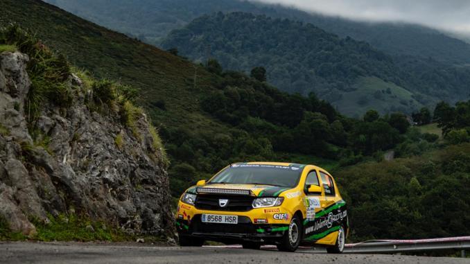 El Q Racing Extremadura de nota en el Rally princesa de Asturias