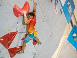 Alberto Ginés plata en la prueba de Inzai (Japón). Subcampeón del mundo absoluto de dificultad