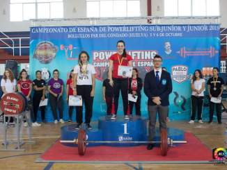 Esther Gutierrez - Campeona de España de Powerlifting Junior -57 kg
