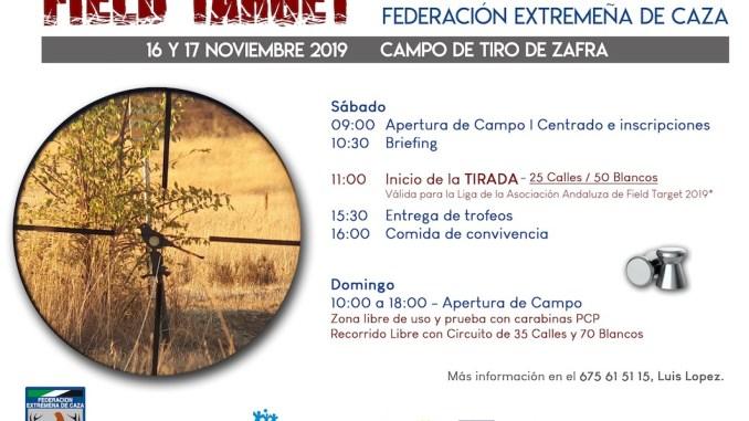 FEDEXCAZA celebrara una jornada Promocional de la nueva modalidad de Field Target