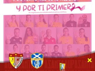Homenaje a la AECC en el partido del domingo ante Tenerife B
