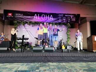 Toni Franco Bronce en el Campeonato del Mundo X-TERRA de Maui