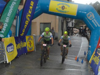 Primeros lideres de la Picota Bike Race by Neumáticos Plasencia tras la prólogo pasada por agua de Cabezuela del Valle