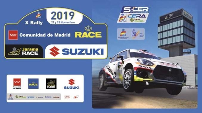 Nutrido concurso extremeño en el Rallye Comunidad de Madrid