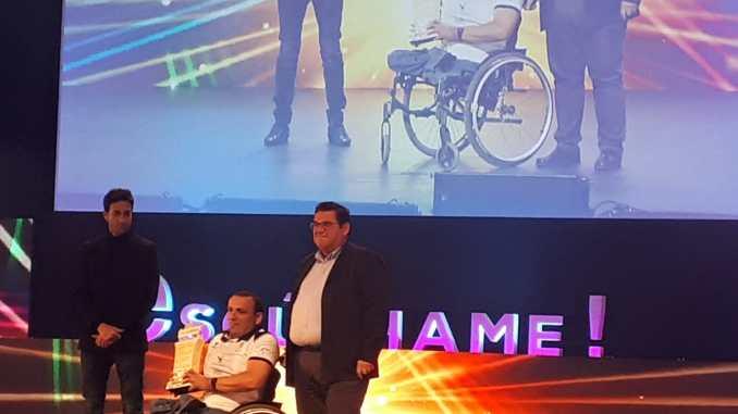 El Extremadura Mideba Calero Sumistros ha recibido el premio Escúchame