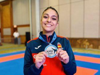 Marta García conquista la medalla de plata en Aruba