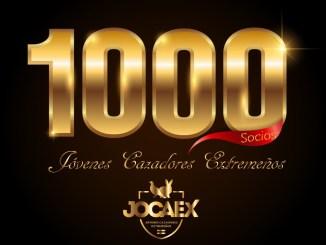 La Asociación Juvenil JOCAEX supera los 1.000 asociados