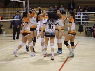 El Extremadura Club Pacense Voleibol se impone al CUV Alcorcón (3-2)
