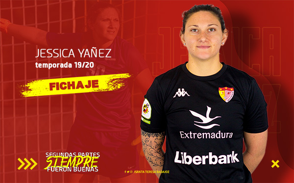 El Liberbank Santa Teresa Badajoz ficha a la guardameta estadounidense Jessica Yañez