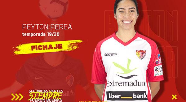 Peyton Perea, nueva jugadora del Liberbank Santa Teresa Badajoz