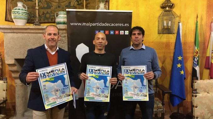 Nuevo récord de inscripciones en la 'Fiesta del Running' en la IX Media Maratón Los Barruecos