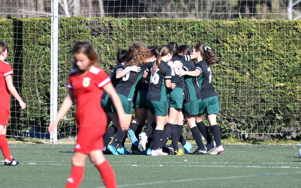 Buen papel de las selecciones femeninas ante Navarra