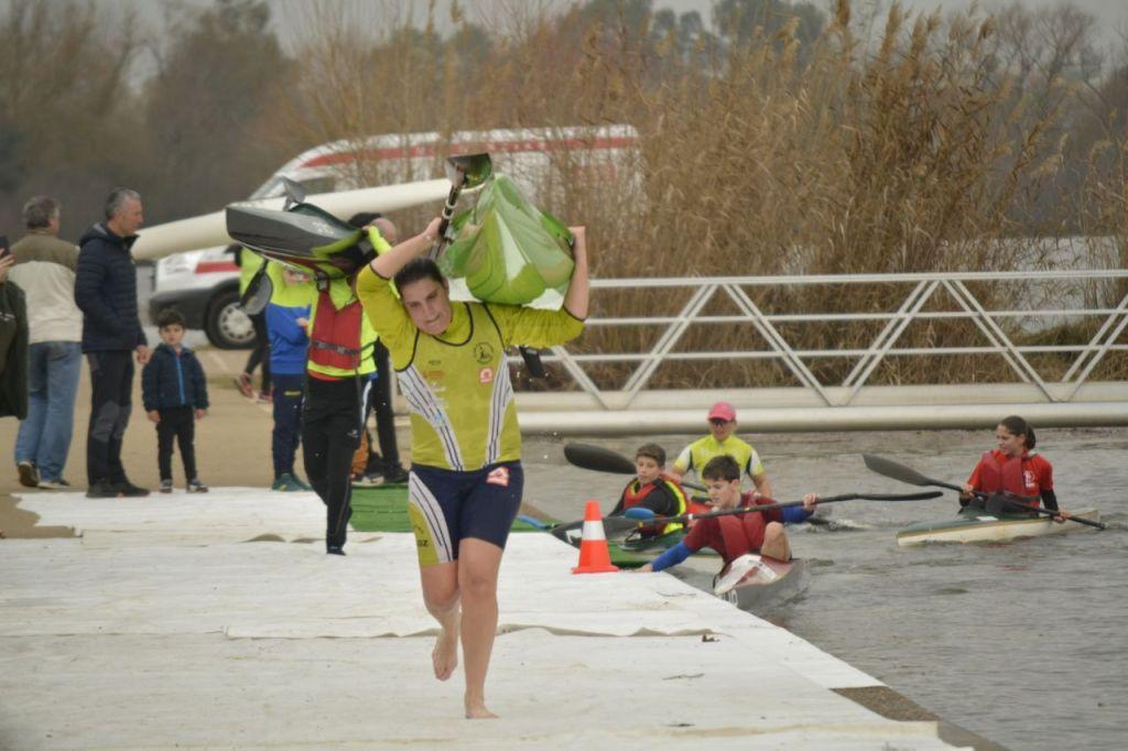 Victoria de Elena Ayuso en la I Regata Judex Maratón en Badajoz
