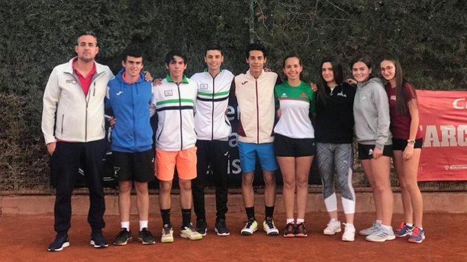Resumen de la participación extremeña en el Torneo de Sevilla incluido en el Circuito Jóvenes Promesas 2020