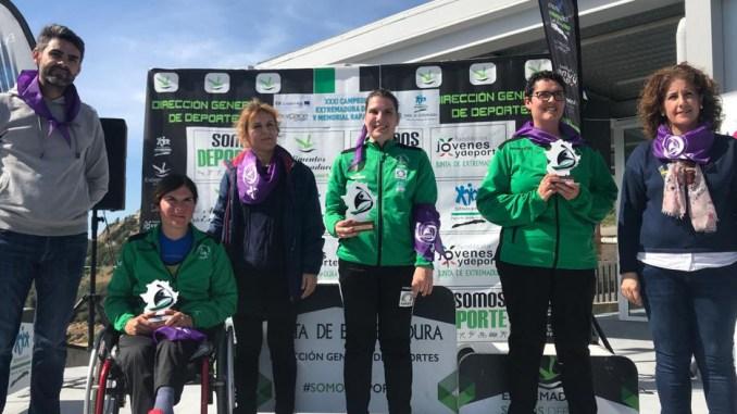 Elena Ayuso se proclama campeona de Extremadura por cuarto año consecutivo