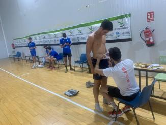 Pruebas Antropométricas a los jugadores del Extremadura CCPH