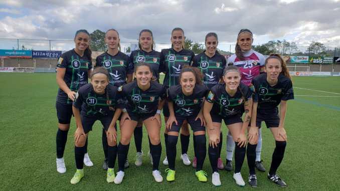 Derrota del C.F Femenino Cáceres en su partido de pretemporada frente al Racing Féminas