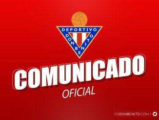 Comunicado Oficial del Club Deportivo Don Benito