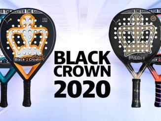 Conoce las nuevas palas Black Crown 2020