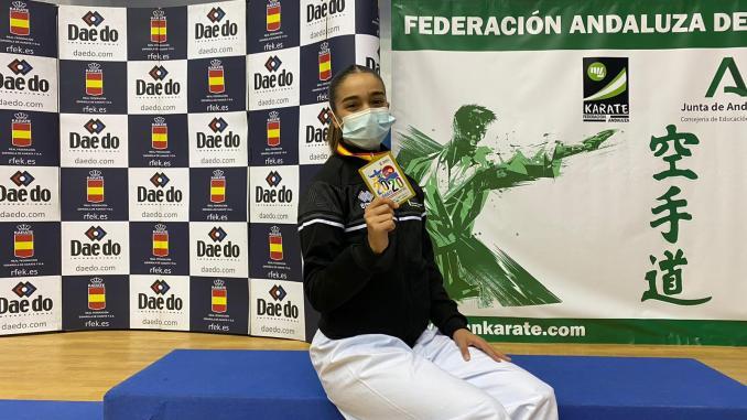 Paola García, campeona de España