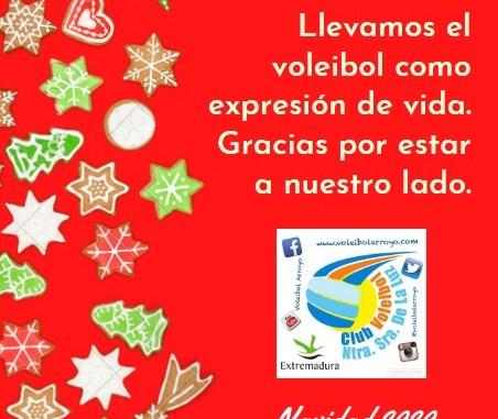 Felicitación club 2020 2 - Voleibol Arroyo