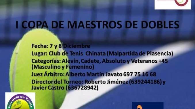 I Copa de Maestros de Dobles de Extremadura
