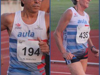Miguel Periáñez y a Macarena Uriol buscan las medallas en el Nacional Máster de Marcha