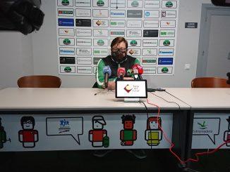 Roberto Blanco en rueda de prensa