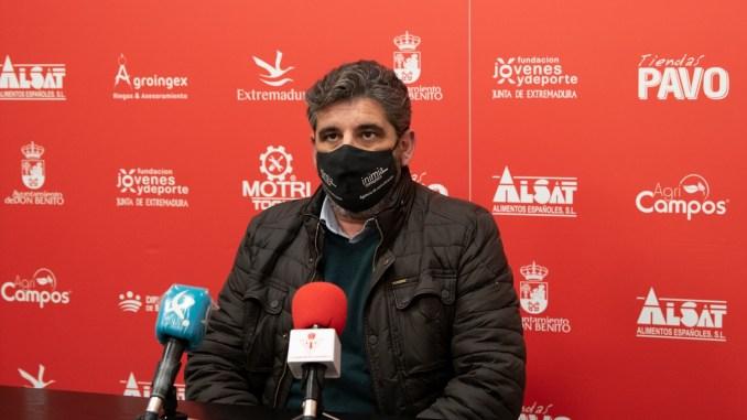 Rueda de Prensa Juan García