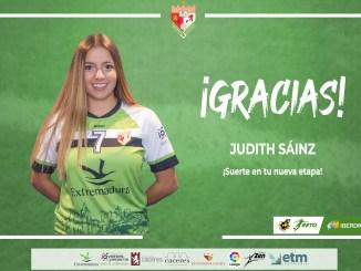 Judith Sainz. CF Femenino Cáceres
