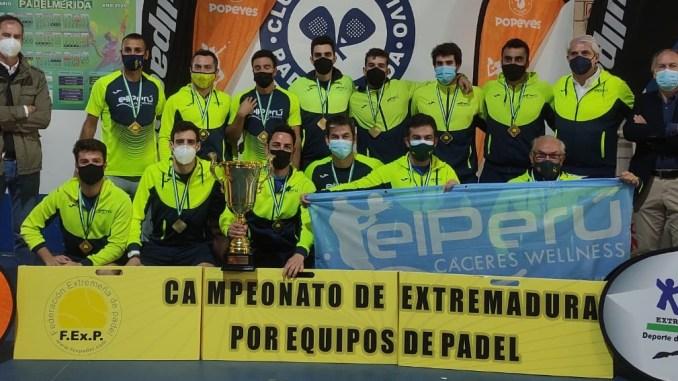 El Perú Campeón Padel 2021