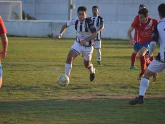 Jaime Herrera con el CD Badajoz