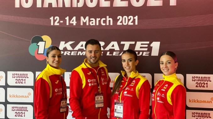 Equipo Nacional Kata en Estambul