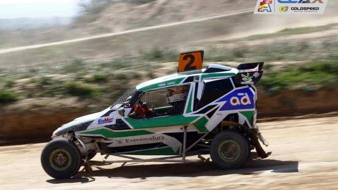 Fredi López en el Campeonato de España de Autocross