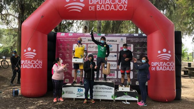 Antonio Cerezo y Aurora Herrador ganan el Duatlón Cross Puebla