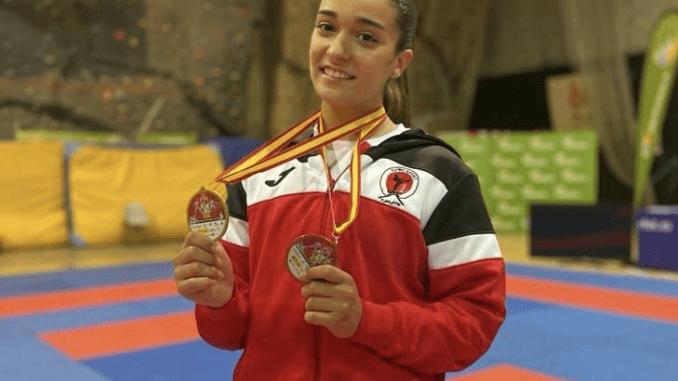 Paola Garcia Medallas Campeonatos de España de Clubes