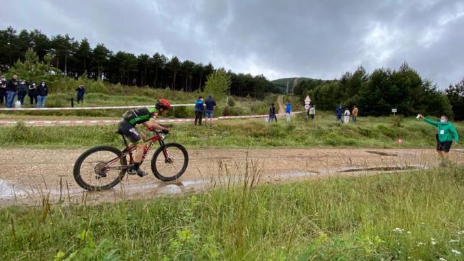 Manu Cordero liderando Astorga Power Race