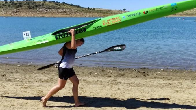 Vuelta a la competición nacional para Elena Ayuso en Verducido