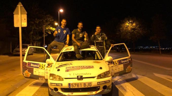 Montes y Collado vencen en el Rallye de Tierra de Madrid