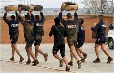 preparacion para policias