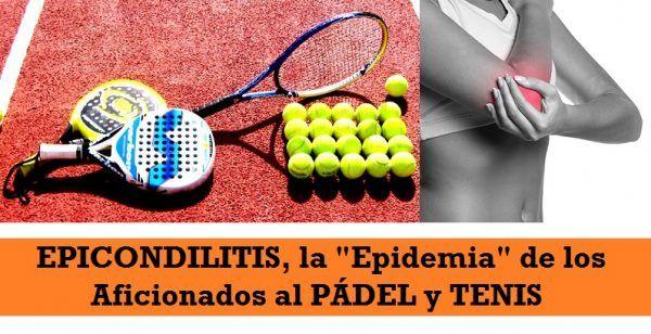 Epicondilitis en pádel y tenis