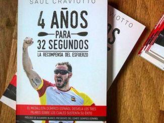 Saúl Craviotto publica su libro