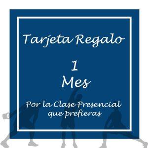Tarjeta Regalo - Clases Presenciales 1 mes