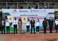 Abanderan a Delegación michoacana que competirá en Juegos Conade 2021