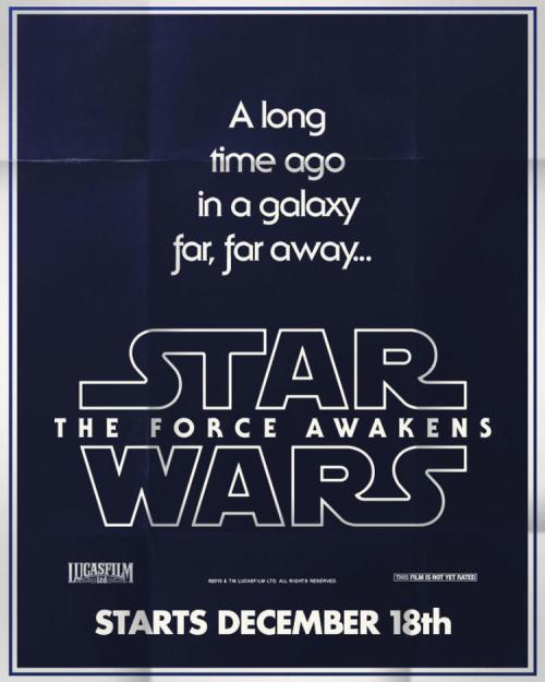 """Star Wars: O Despertar da Força ganha 3 pôsteres """"retrô"""" sensacionais"""