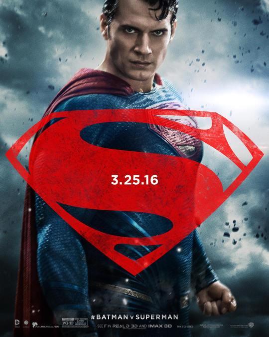 Divulgado Pôsteres Incríveis de Batman vs Superman