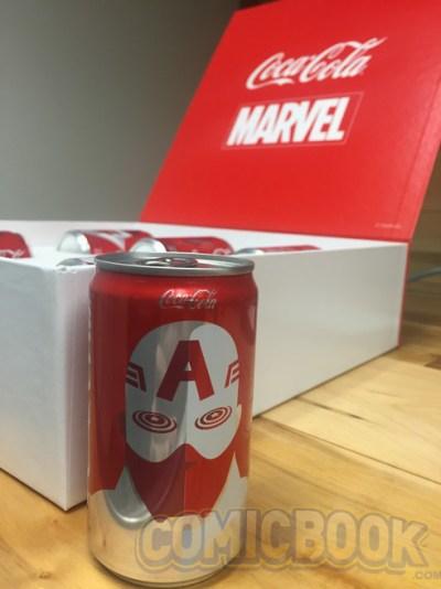 Coca-Cola irá lançar latas inspirados nos heróis da Marvel