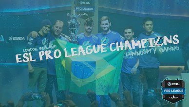 GAMES | Brasileiros da Luminosity Gaming vencem campeonato de Counter Strike!