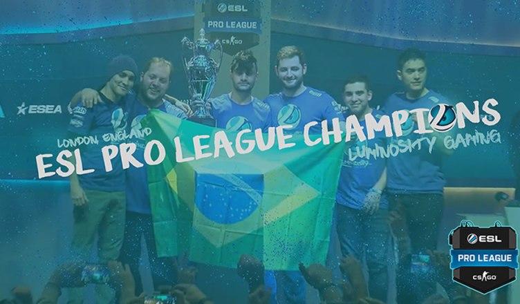 GAMES | Brasileiros da Luminosity Gaming vencem campeonato de Counter Strike!